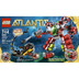 lego atlantis undersea explorer includes heroic