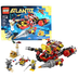 lego atlantis series long vehicle deep