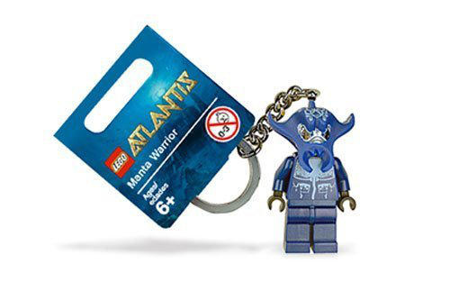 Atlantis Manta Warrior Key Ring Ages